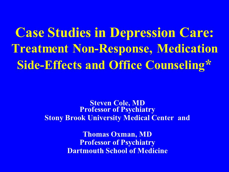 OFFICE COUNSELING Use TACCT SELF-MANAGEMENT SUPPORT –UB-PAP (ultra-brief personal action planning) OFFICE PSYCHOTHERAPY – BATHE – SPEAK