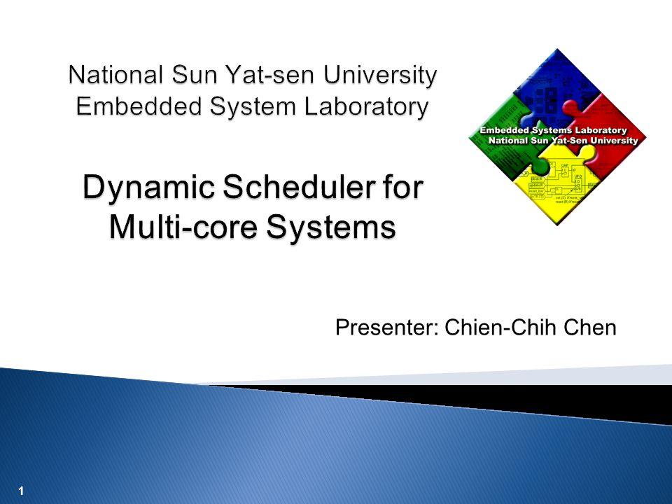 1 Presenter: Chien-Chih Chen