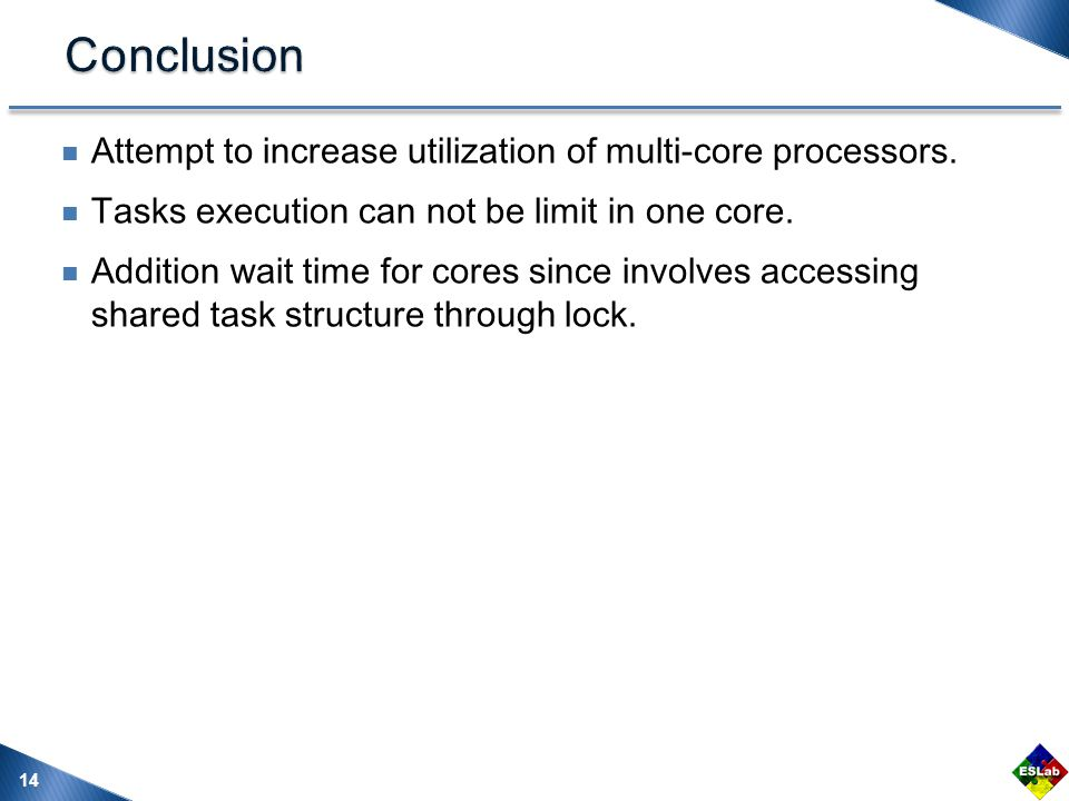Attempt to increase utilization of multi-core processors.