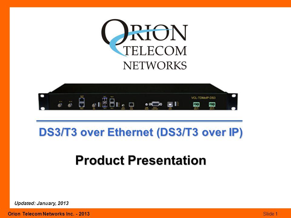 Orion Telecom Networks Inc.