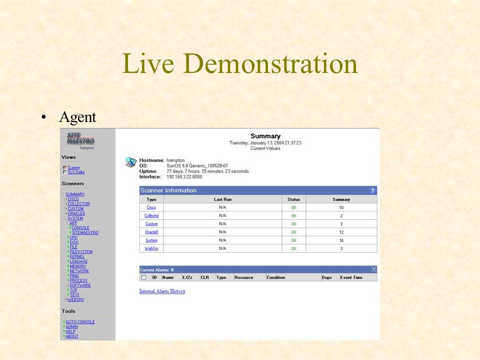Live Demonstration Agent