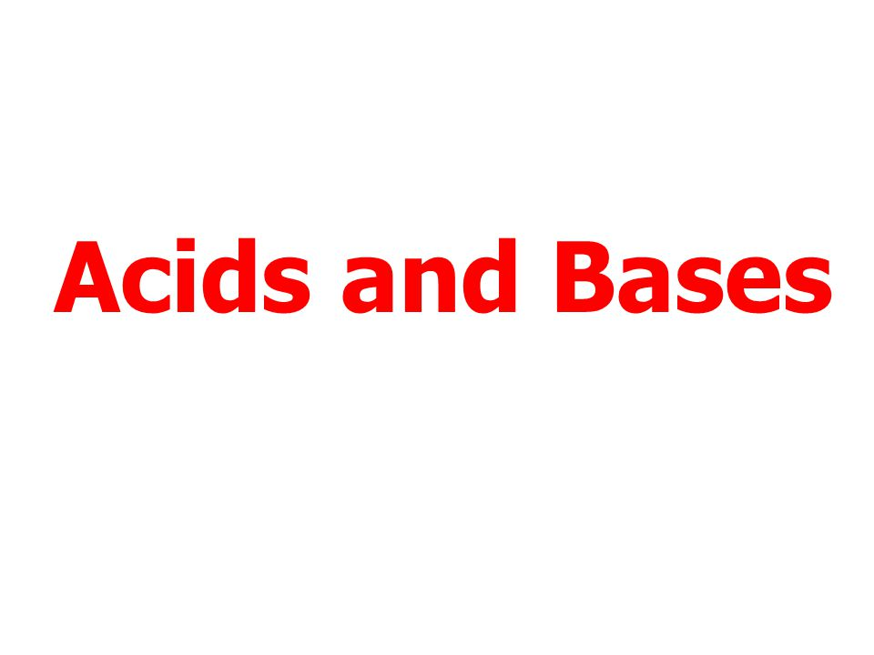Acids and Bases Click here to repeat Acids and Bases Click here to return to the Menu Click here to End.