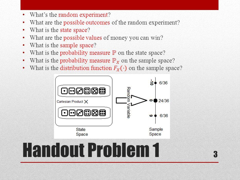 Handout Problem 1 3