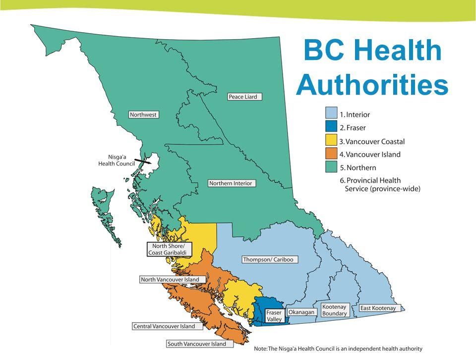 BC Health Authorities