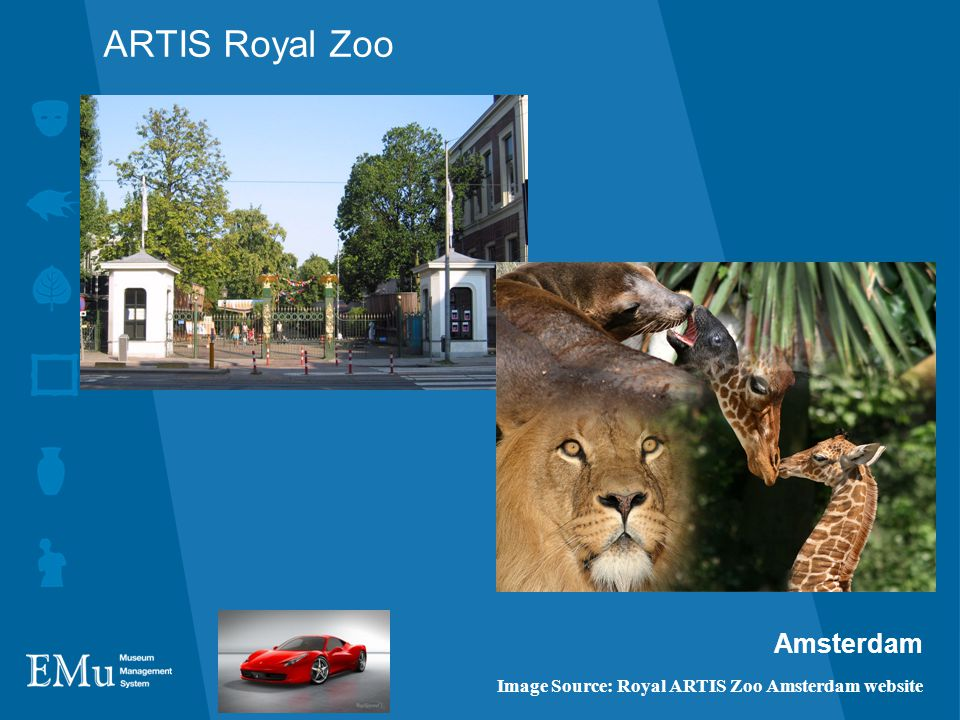 ARTIS Royal Zoo Amsterdam Image Source: Royal ARTIS Zoo Amsterdam website