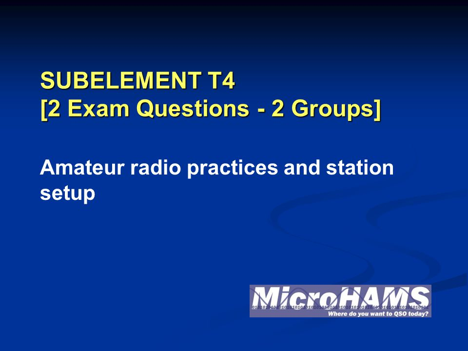 32Microhams 2010 Technician T4B02 Which of the following can be used to enter the operating frequency on a modern transceiver.