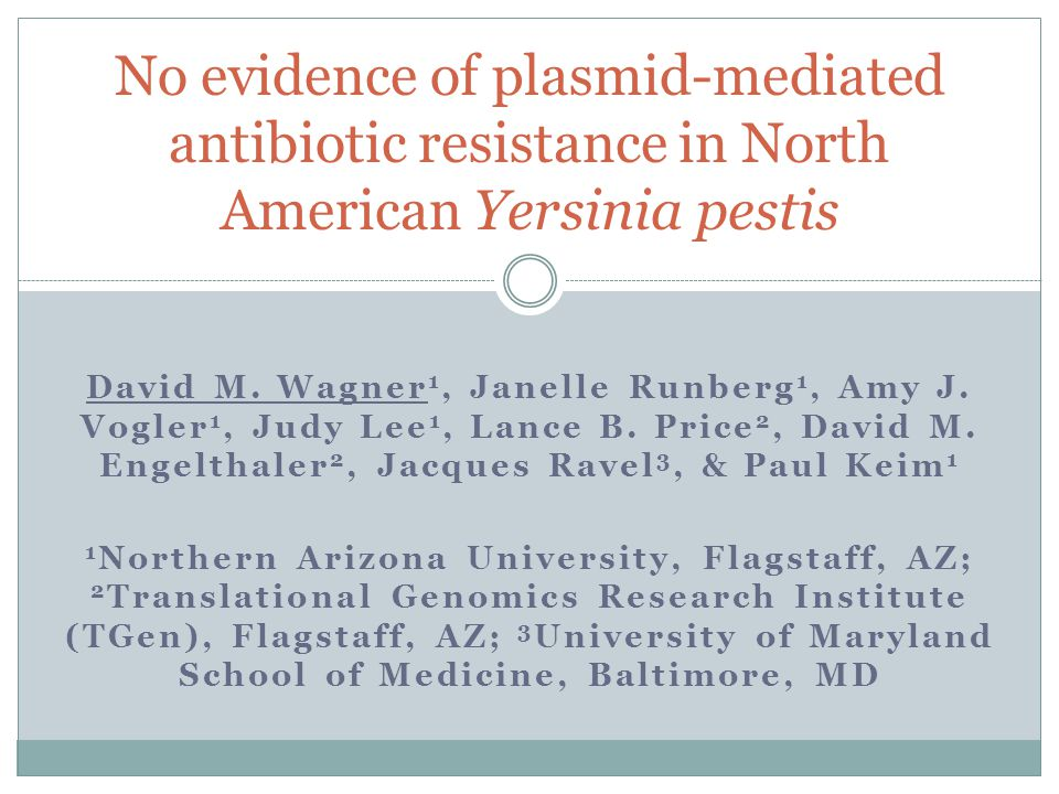David M. Wagner 1, Janelle Runberg 1, Amy J. Vogler 1, Judy Lee 1, Lance B.