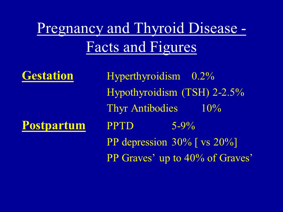 Pregnancy, Thyroid Antibodies and Outcome Euthyroid women with Abs tend to be older when first pregnant They have reduced thyroid functional reserve (