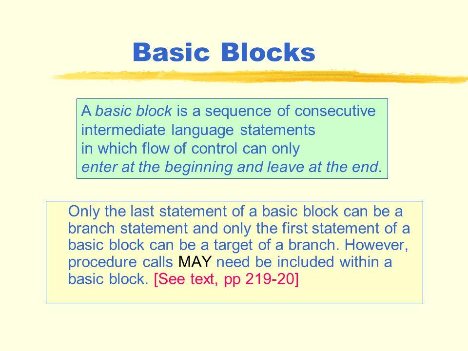 Motivation S 1 :A2(def of A) S 2 :B10(def of B) S 3 :CA + Bdetermine if C is a constant 12? S 4 Do I = 1, C A[I] = B[I] + D[I-1]......