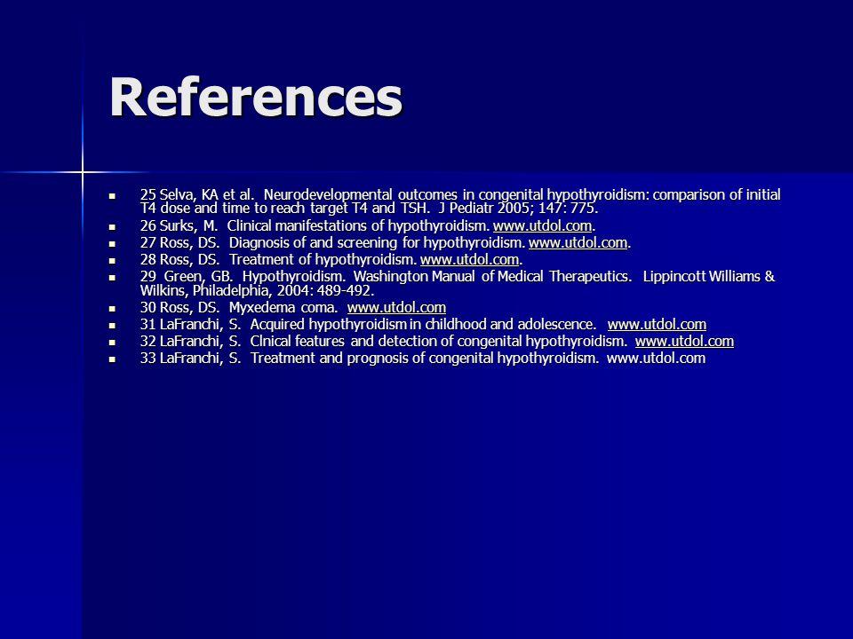 References 25 Selva, KA et al.