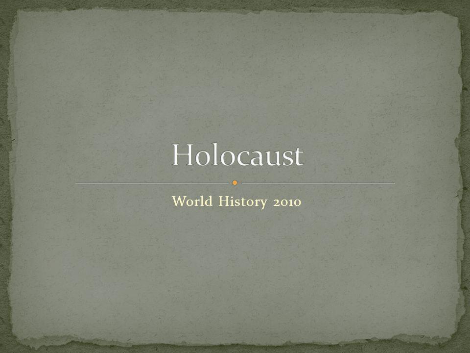 World History 2010