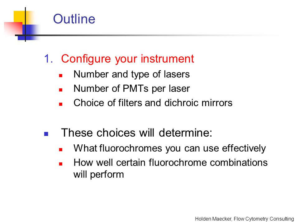 Holden Maecker, Flow Cytometry Consulting Comparison of gating controls