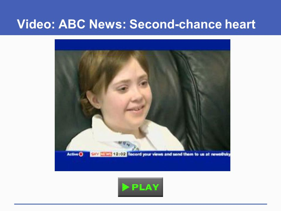Video: ABC News: Second-chance heart