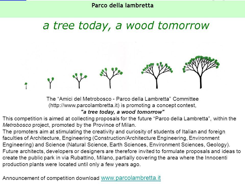 "GeoInforM Project - LIFE06 TCY/ROS/000267 Steering Committee – St. Petersburg, October 2007 The ""Amici del Metrobosco - Parco della Lambretta"" Committ"