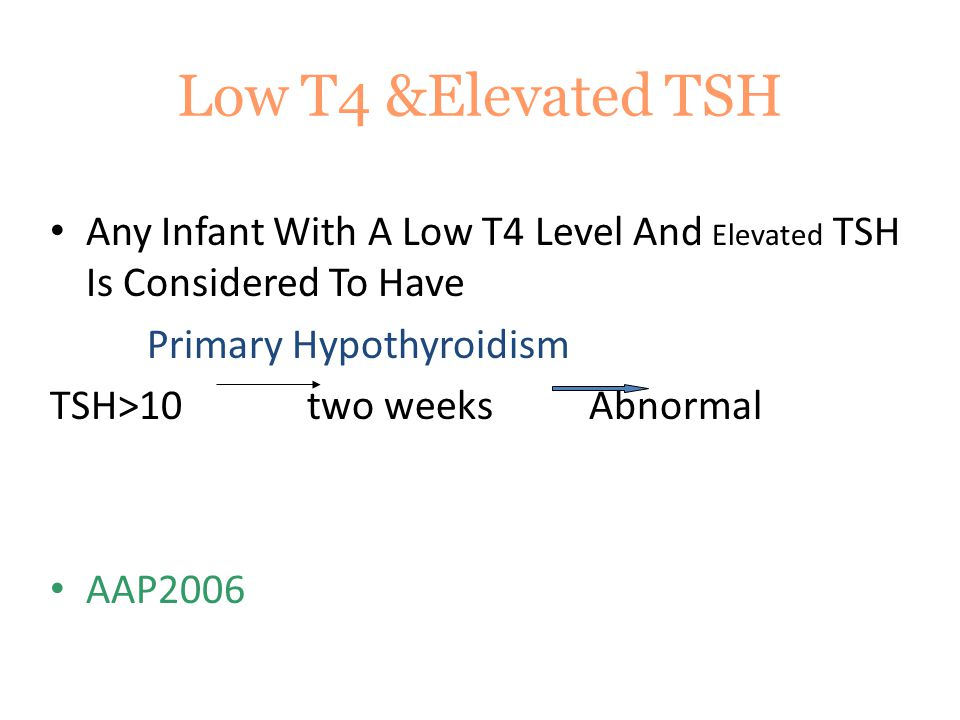 Prognosis Infant With  Initial T4 Level < 5 µg/dl  Delay Skeletal Maturation at Birth.