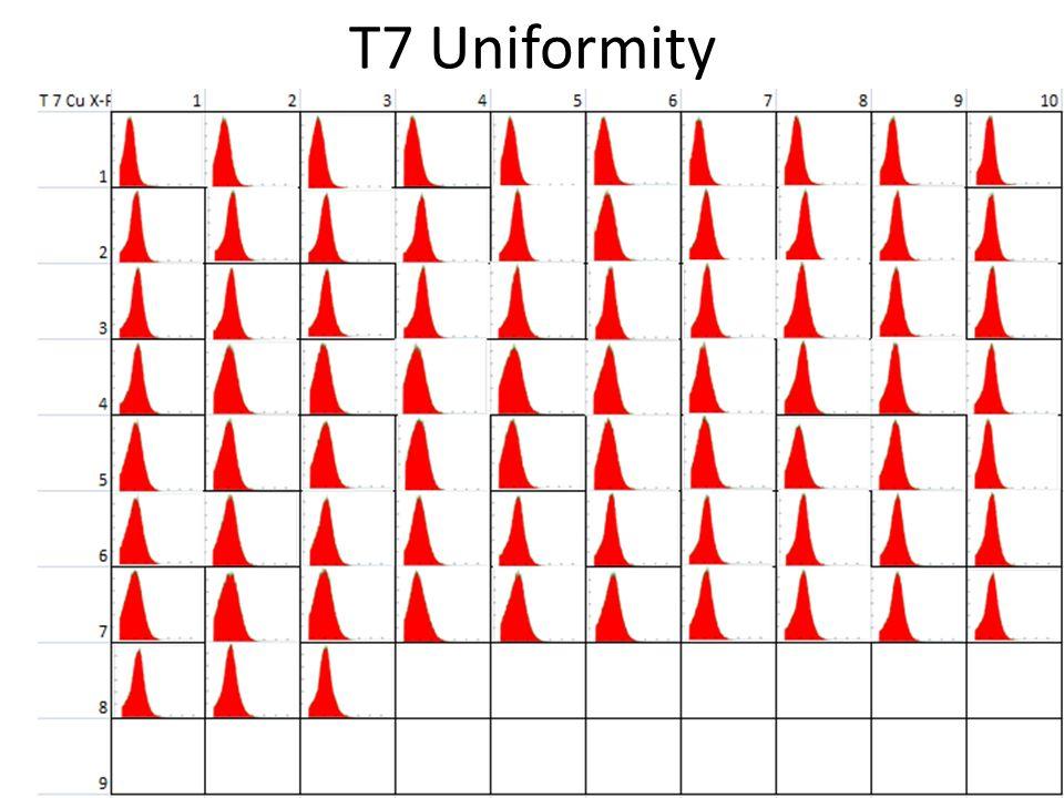 T7 Uniformity