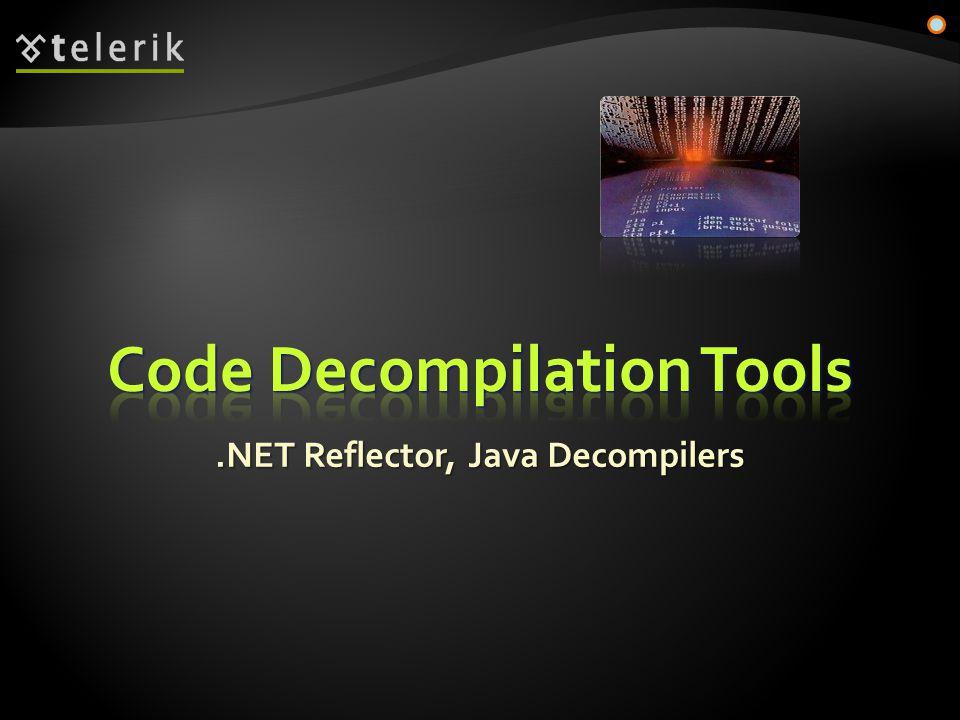 .NET Reflector, Java Decompilers