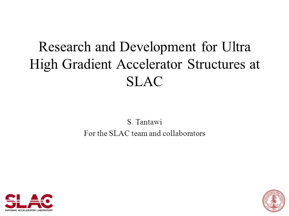 Research and Development for Ultra High Gradient Accelerator Structures at SLAC S.
