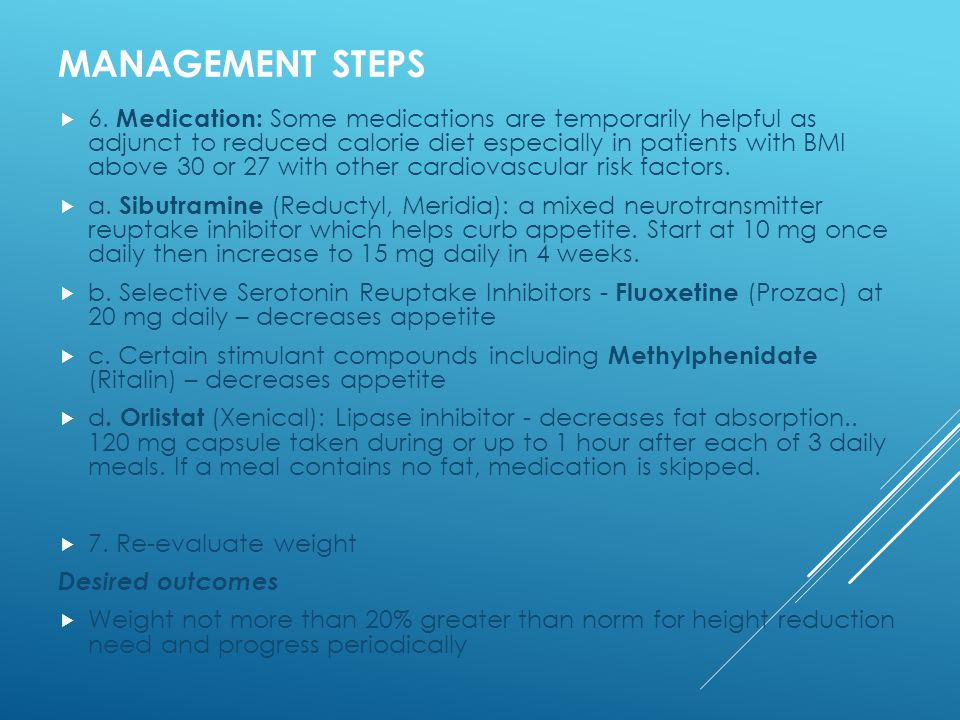 MANAGEMENT STEPS  6.