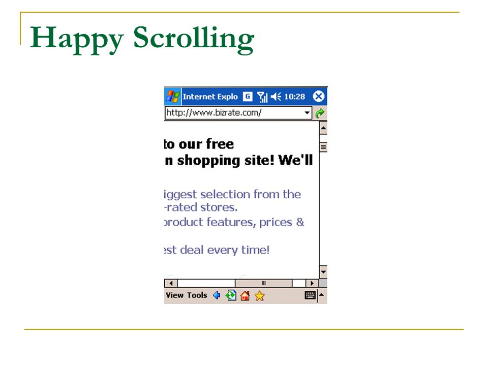 Happy Scrolling