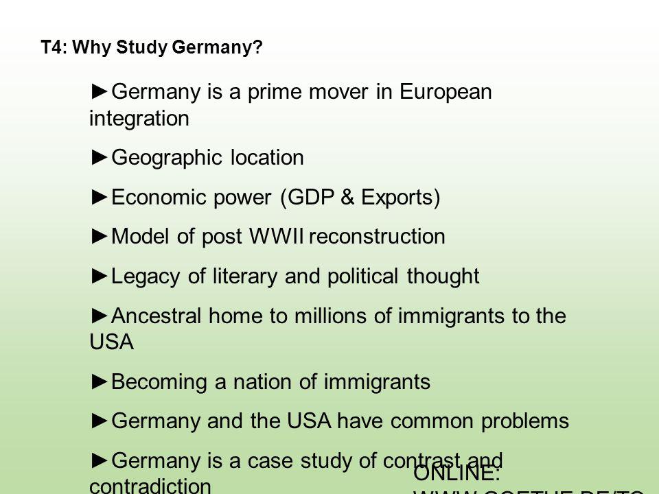 ONLINE: WWW.GOETHE.DE/TO P T5: Member Nations of the EU