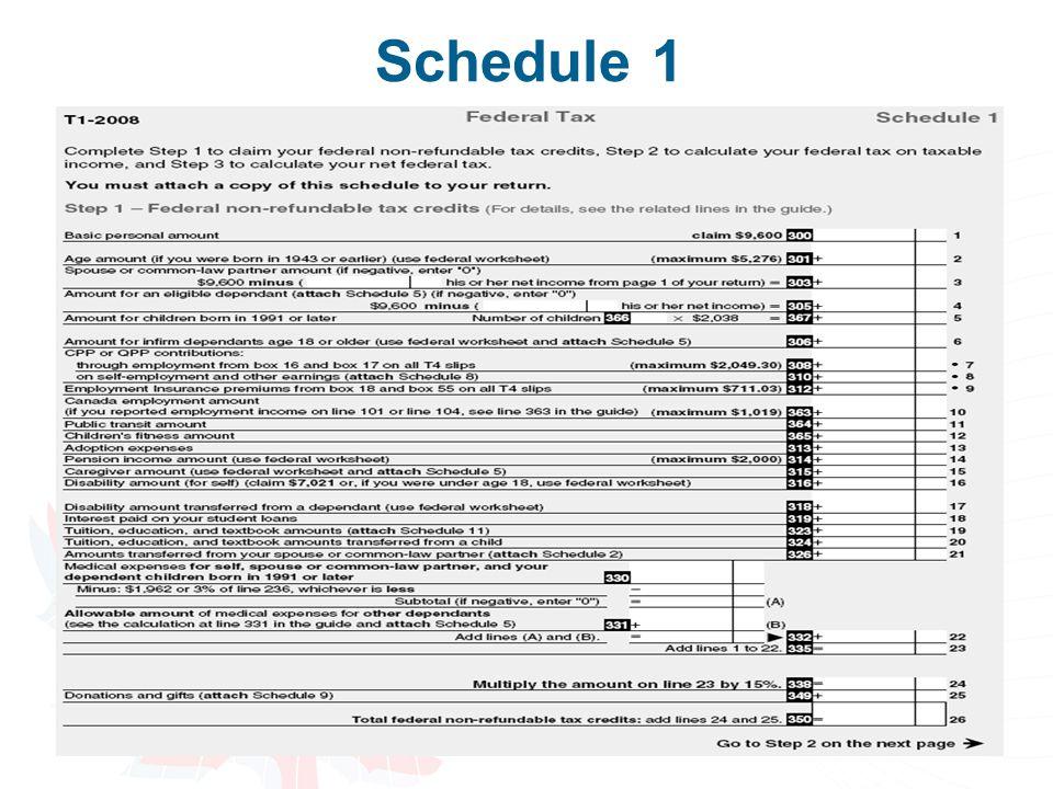 43 Schedule 1