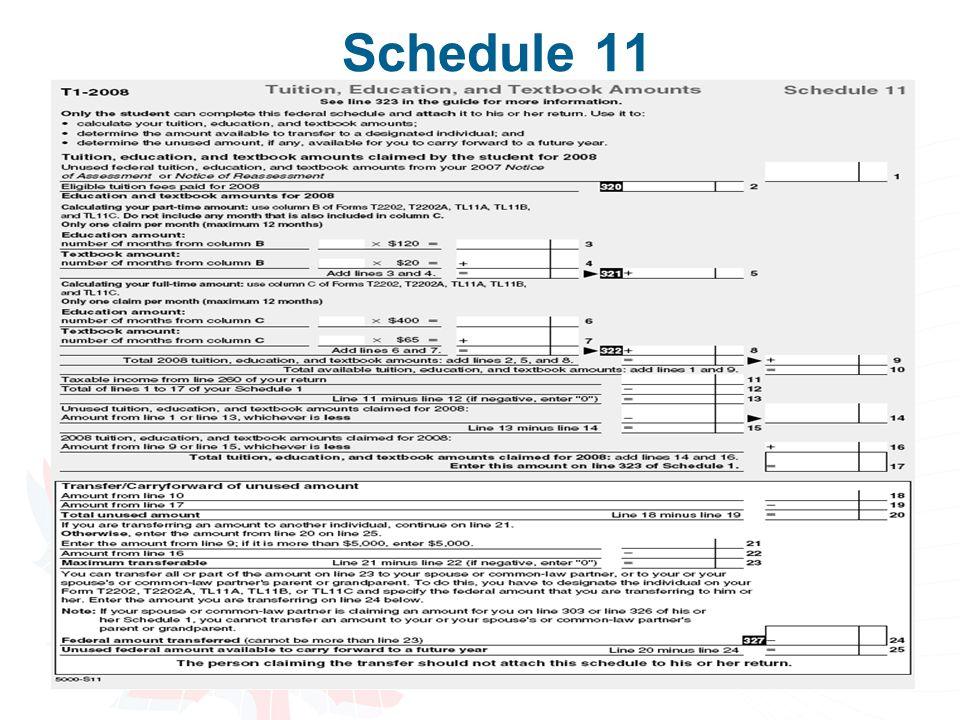 49 Schedule 11