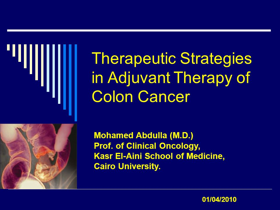 Colon Cancer; Challenging Issues:  Better Understanding of the Molecular Events.