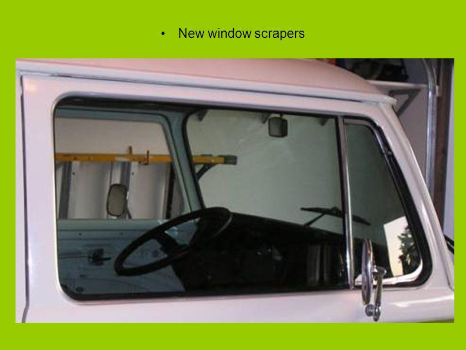New window scrapers