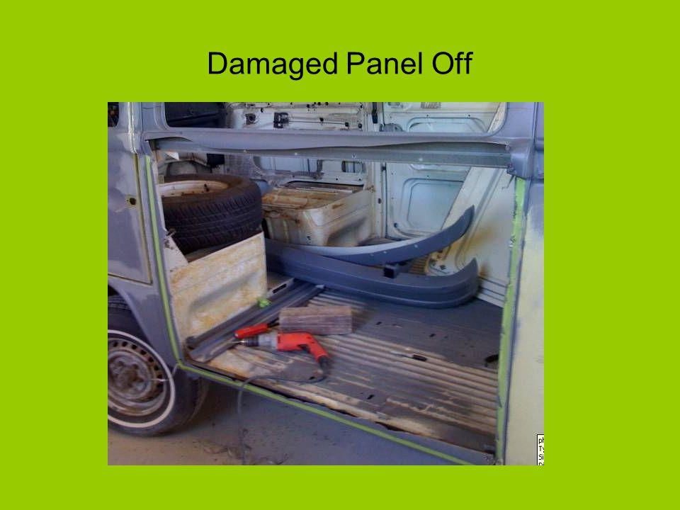 Damaged Panel Off