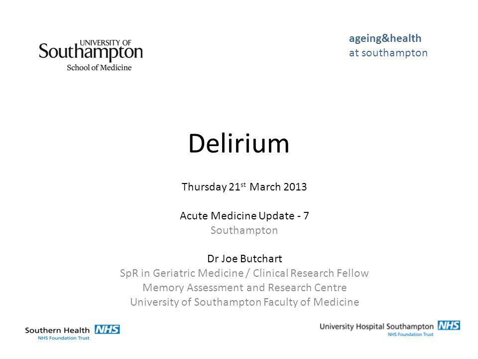 Adamis (2009) ↑ IFN-γ ↑ IL-6 ↑ IL-8 ApoE ε4 allele ↓ IGF-1 Predictors of delirium