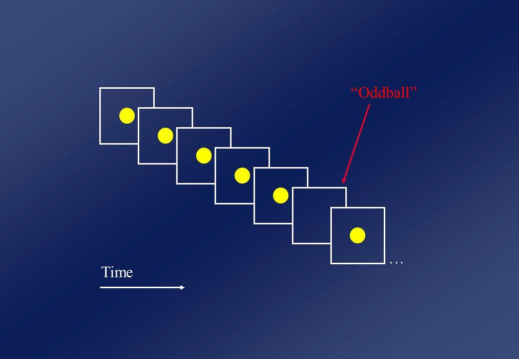 Time … Oddball