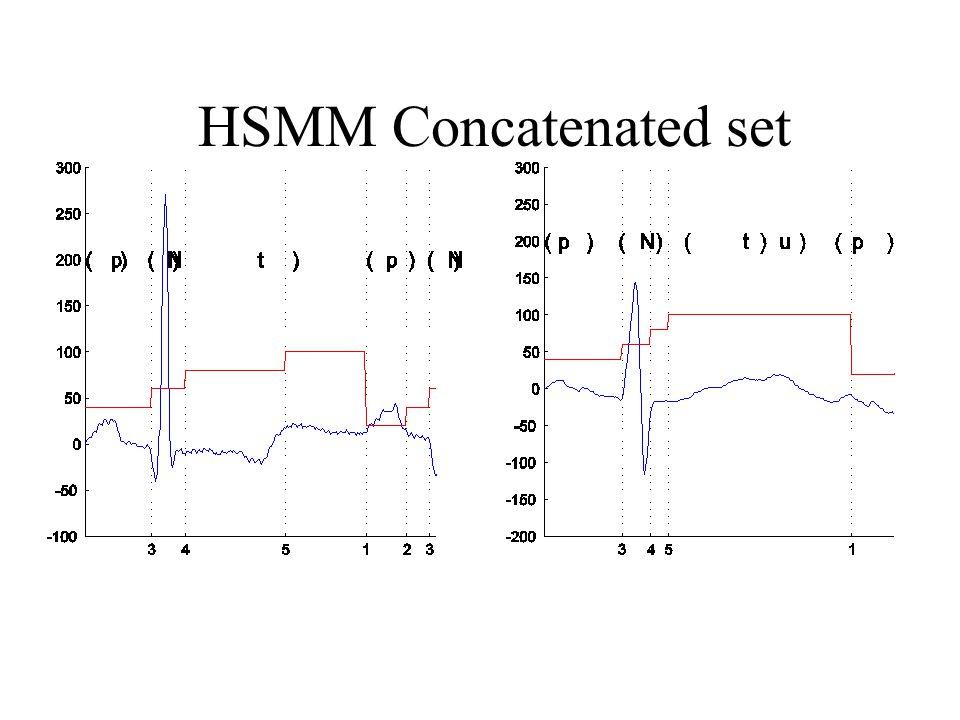 HSMM Concatenated set