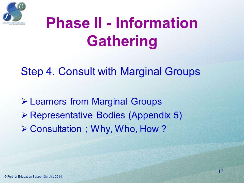 Phase II - Information Gathering Step 4.