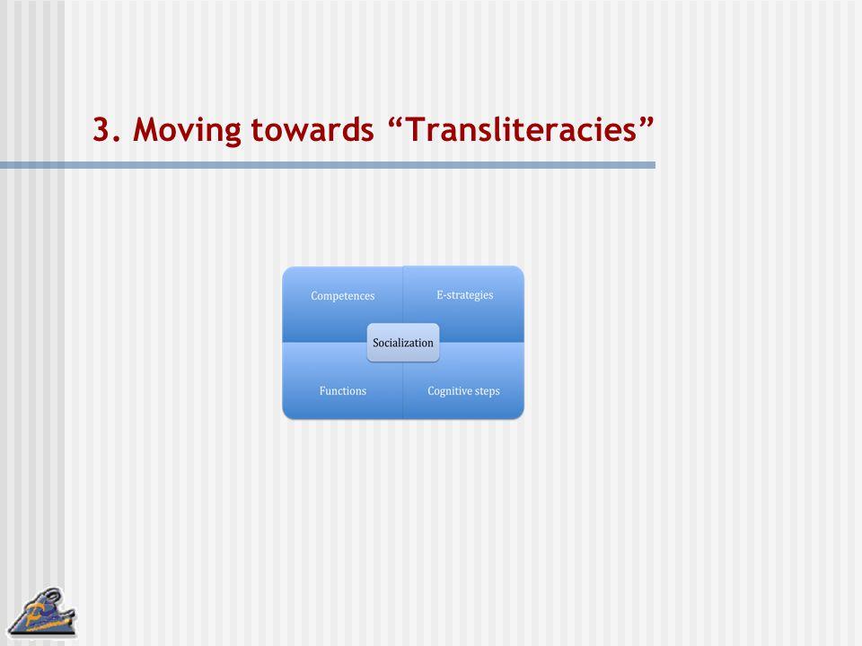 3. Moving towards Transliteracies