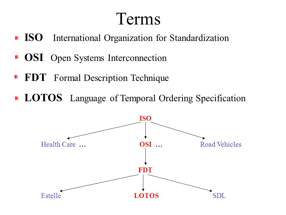 Operational Semantics The actions that are performed are all user- defined.