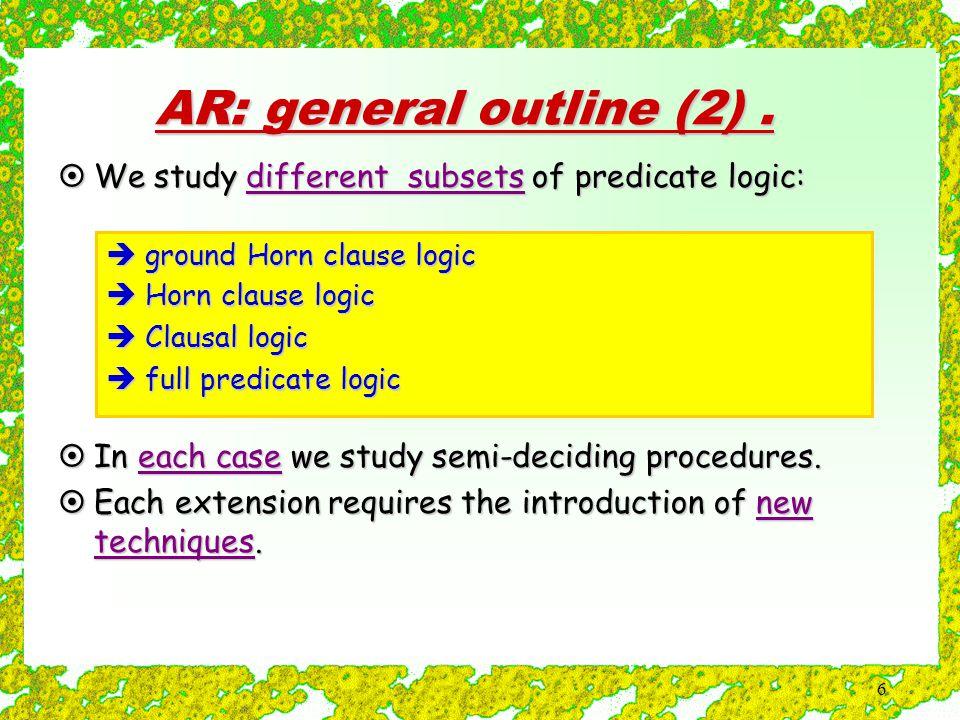6 AR: general outline (2).