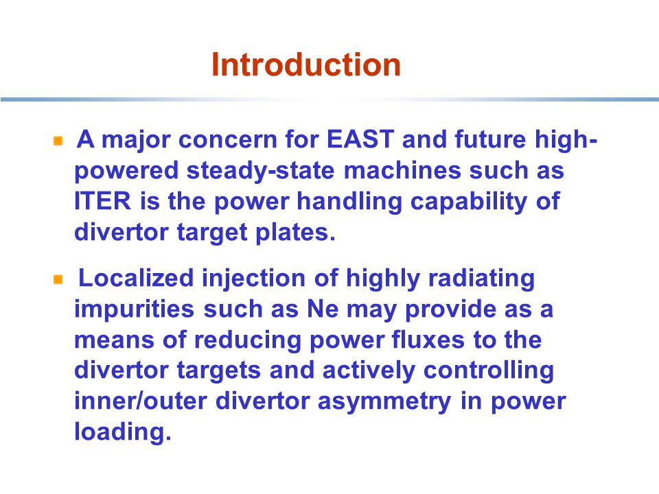Ne is introduced from outer lower divertor.