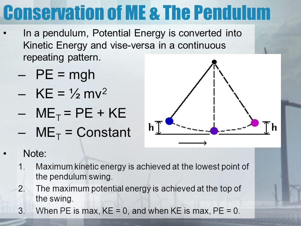 Harmonic Motion & The Pendulum Pendulum: Consists of a massive object called a bob suspended by a string.