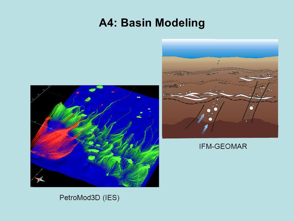 A4: Basin Modeling PetroMod3D (IES) IFM-GEOMAR