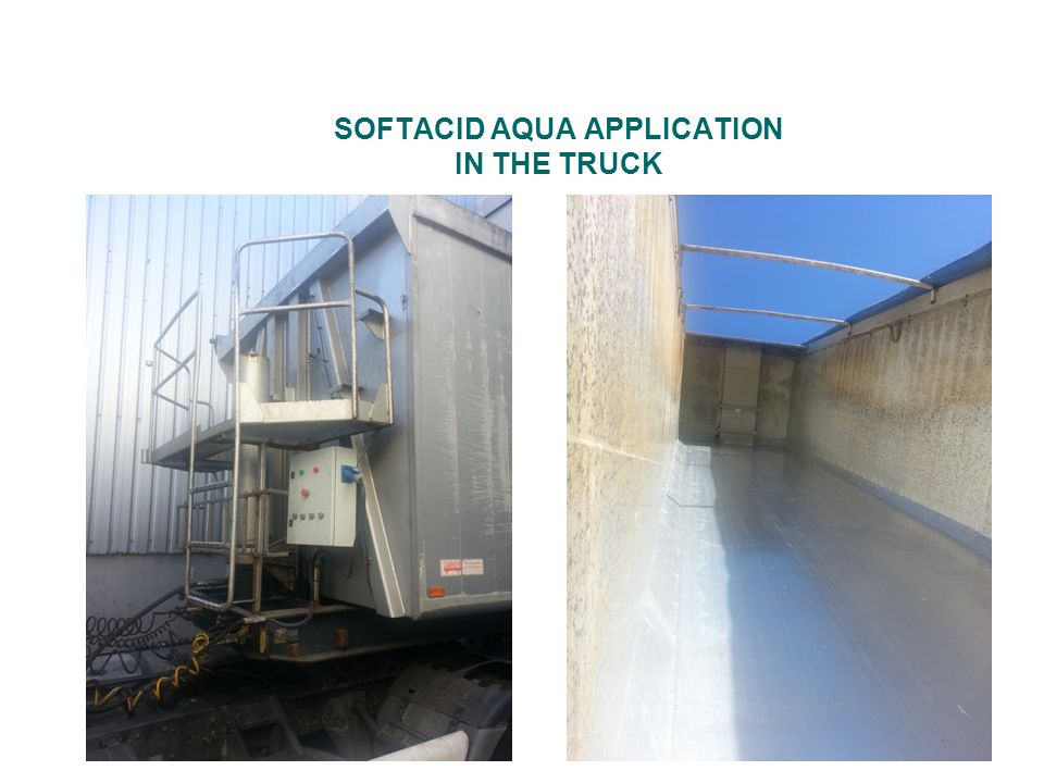 SOFTACID AQUA APPLICATION IN THE TRUCK