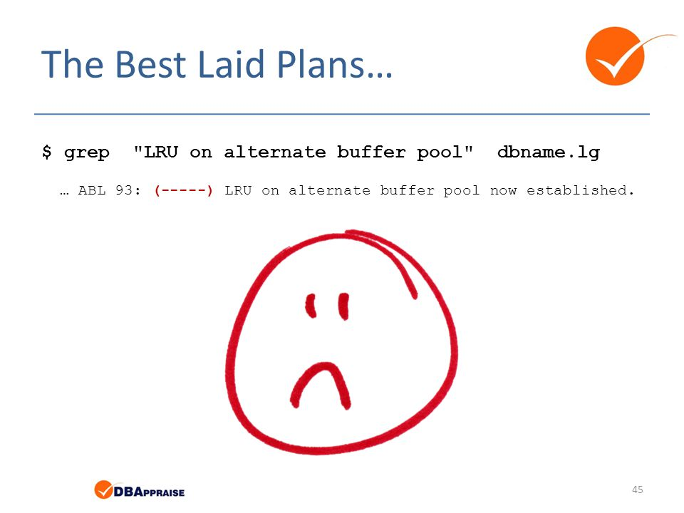 The Best Laid Plans… $ grep