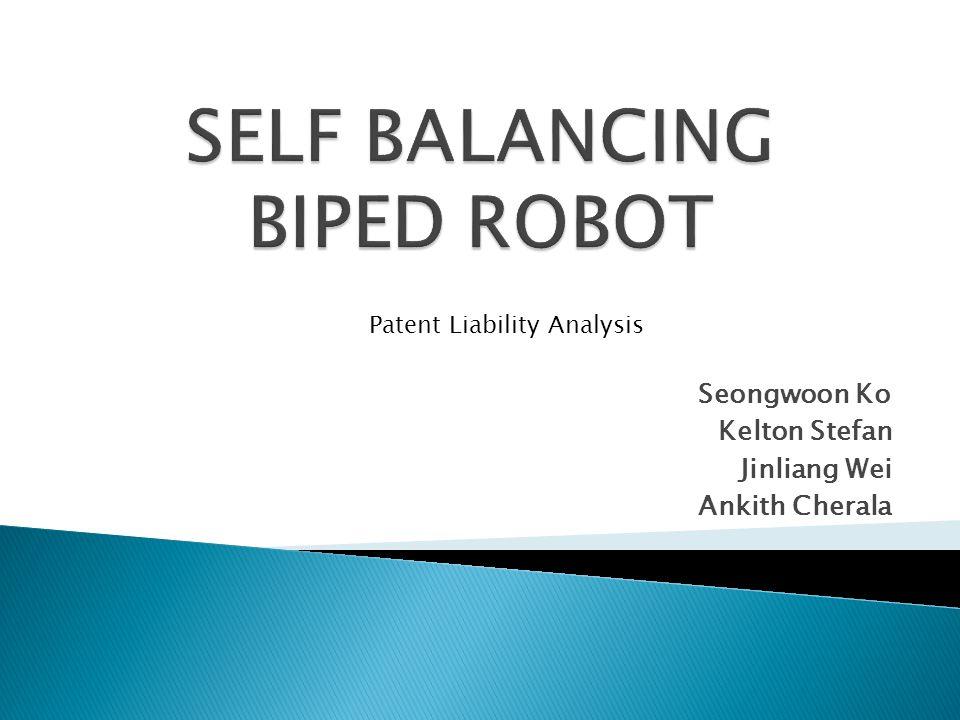 Seongwoon Ko Kelton Stefan Jinliang Wei Ankith Cherala Patent Liability Analysis