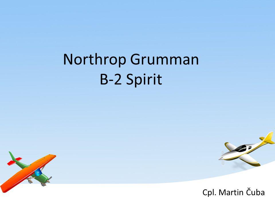 Northrop Grumman B-2 Spirit Cpl. Martin Čuba