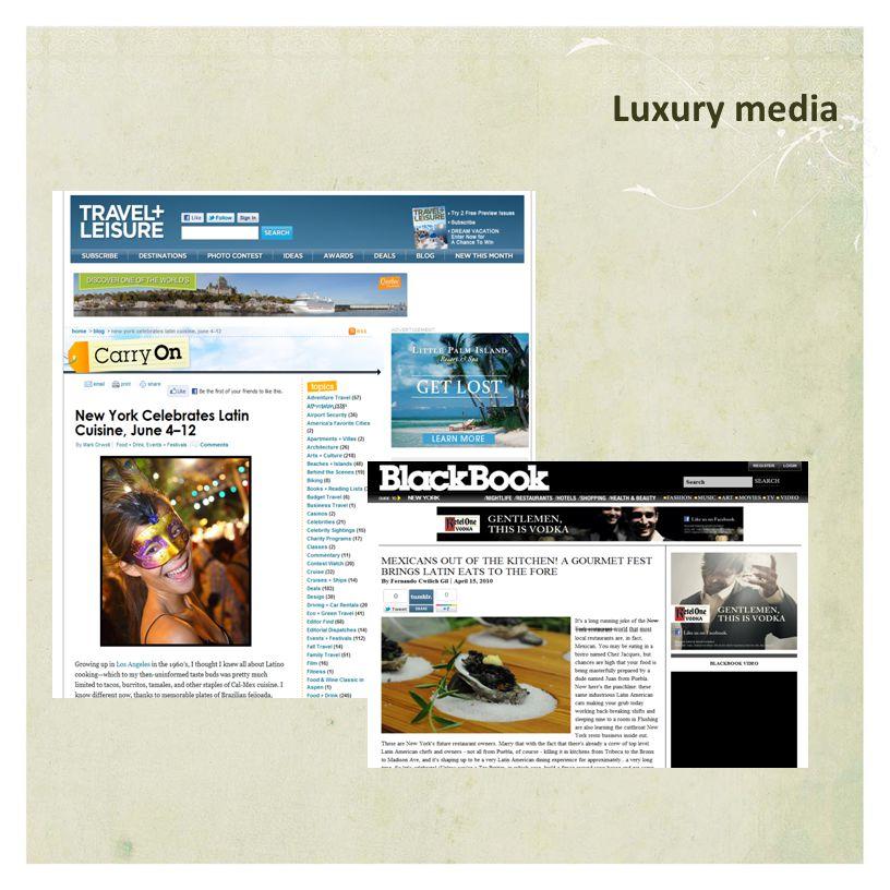 Luxury media