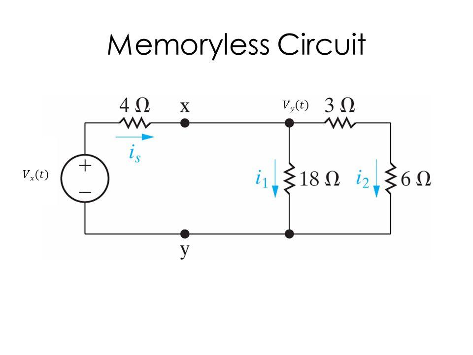 Memoryless Circuit