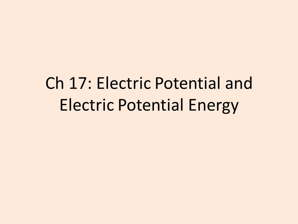 Electric Potential Energy: Parallel Plates Gravitational PE is similar to Electric PE Height*Gravity is similar to Electric Potential