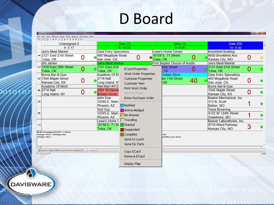 D Board