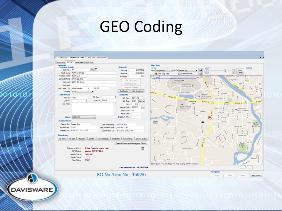 GEO Coding