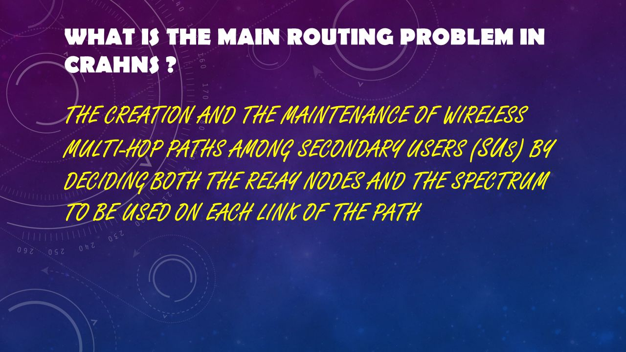 Rerouting due to PU activation